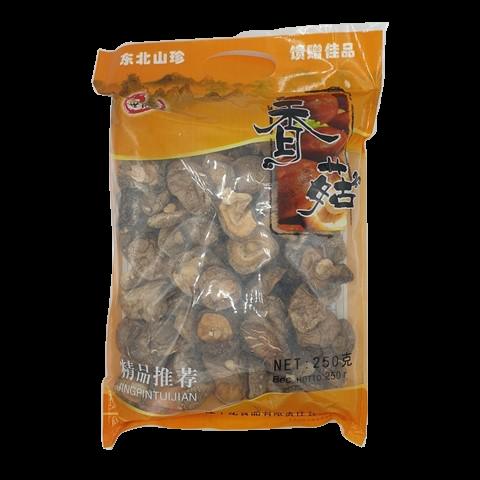 Грибы Сян-Гу Шиитаке сушеные SHUANGMA, 250 гр