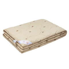 Одеяло из верблюжьей шерстью зимнее 170х205 КАРАВАН