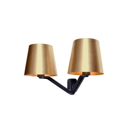 Настенный светильник копия Base Brass by Tom Dixon