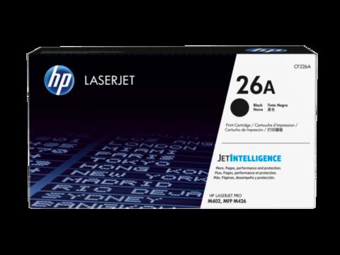 Оригинальный картридж HP CF226A (№26A), чёрный
