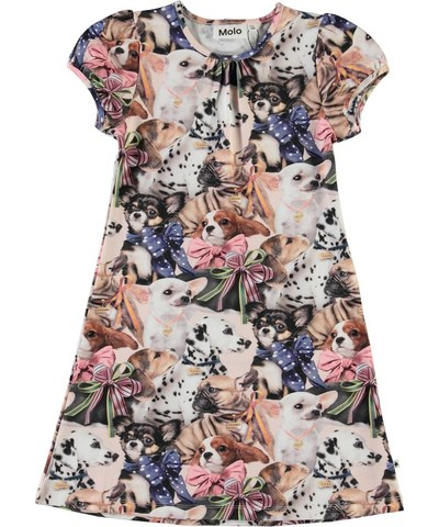 Molo Camellia  Puppy Love платье для девочки
