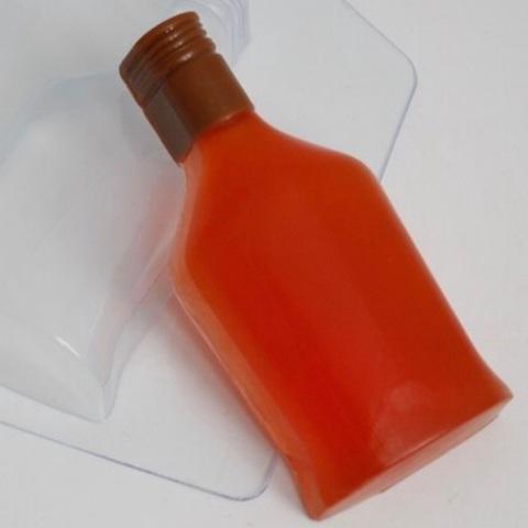 Пластиковая форма для шоколада муж. БУТЫЛКА КОНЬЯКА без узора (120х55мм)