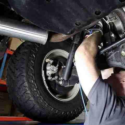 Замена задних пружин Prado 150