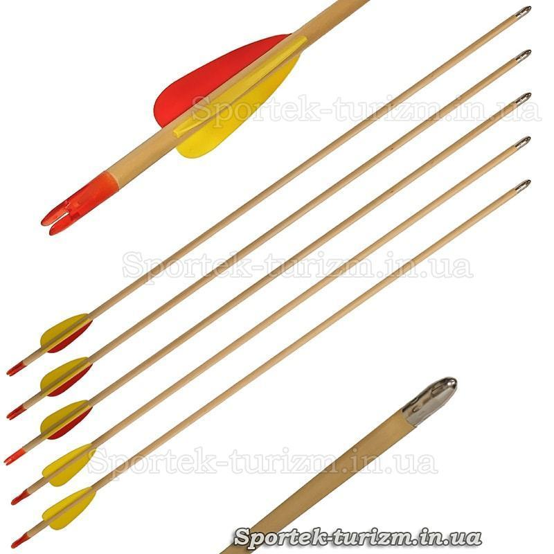 Стрела деревянная для лука Man Kung MK-W28 (28