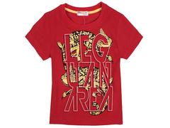 702-11 футболка детская, красная