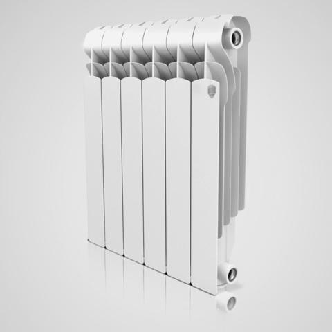 Алюминиевый радиатор Royal Thermo Indigo 500 - 8 секций