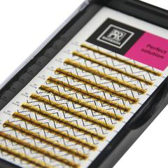 Ресницы Perfect solution готовые пучки 4D (12 линий)