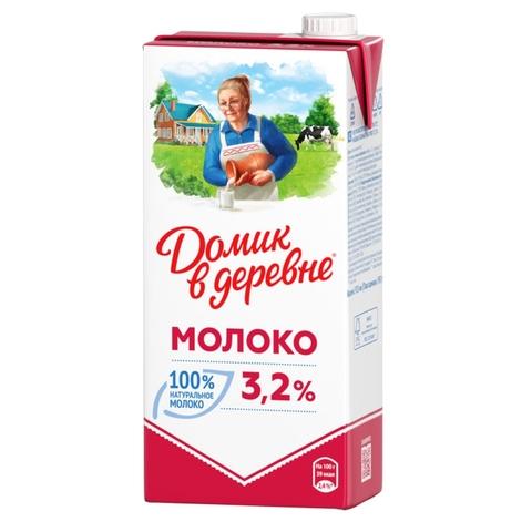 Молоко ДОМИК В ДЕРЕВНЕ 3,2% 0,95 л т/п