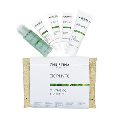 Christina Bio Phyto: Дорожный набор, 5 средств (Phyto On The Go Travel kit), 1шт