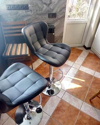 Барный стул Porsche / Порше (стул стилиста, бровиста)