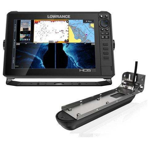 Эхолот-картплоттер Lowrance HDS-12 Live с датчиком Active Imaging 3-in-1