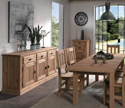 Мебель для столовой из сосны Галвей