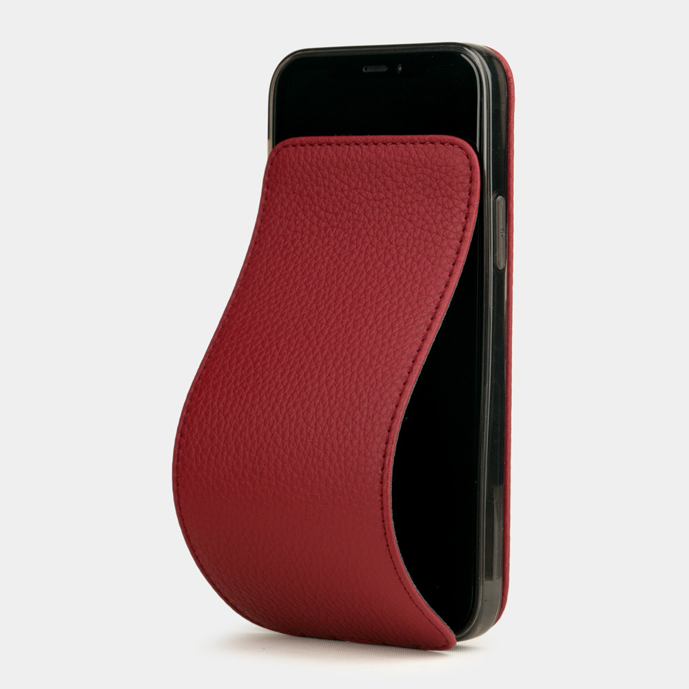 Case for iPhone 12 & 12 Pro - red cherry