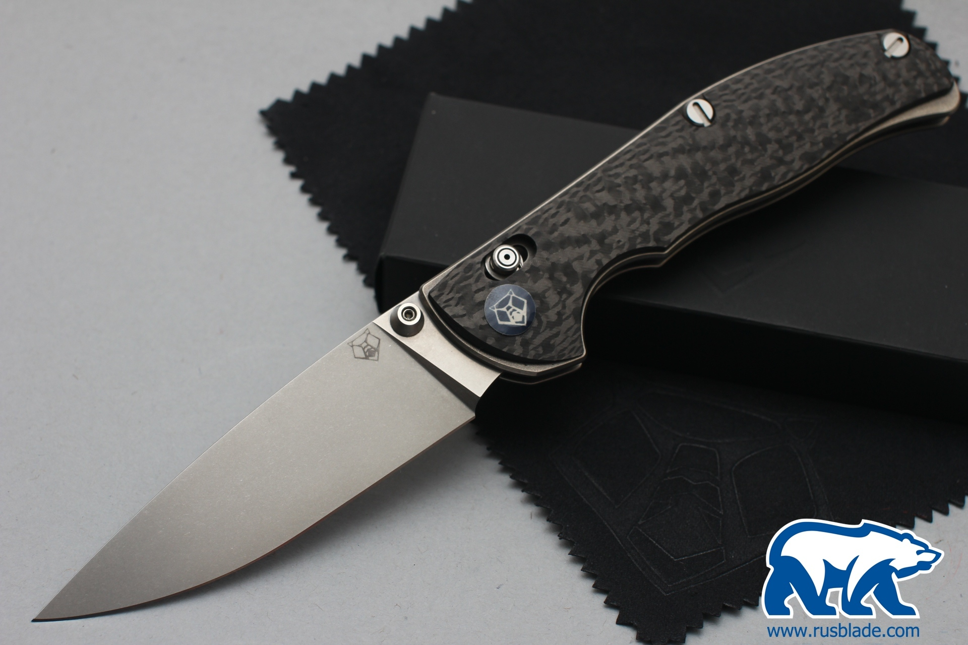 Shirogorov Tabargan 100NS M390 Carbon Fiber 3D