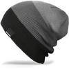Картинка шапка-бини Dakine lester beanie Black Grey - 1