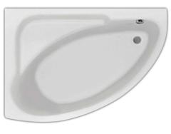Ванна акриловая Santek (Сантек) Гоа 150х100х45 асимметричная, левая