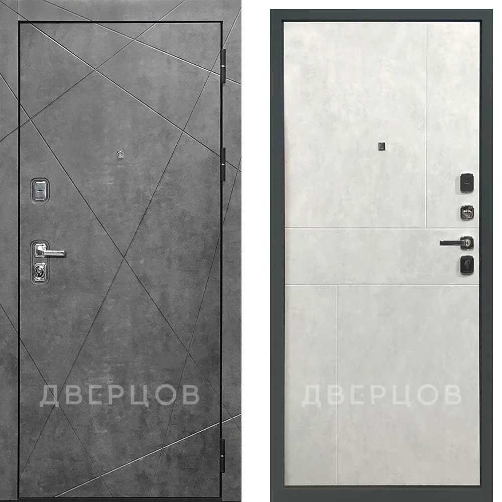 Входные двери Входная дверь Regidoors Прогресс ПВХ тёмный бетон ПВХ светлый бетон темный_бетон_VEGAS-ПВХ_светлый_бетон_FUSION.jpeg