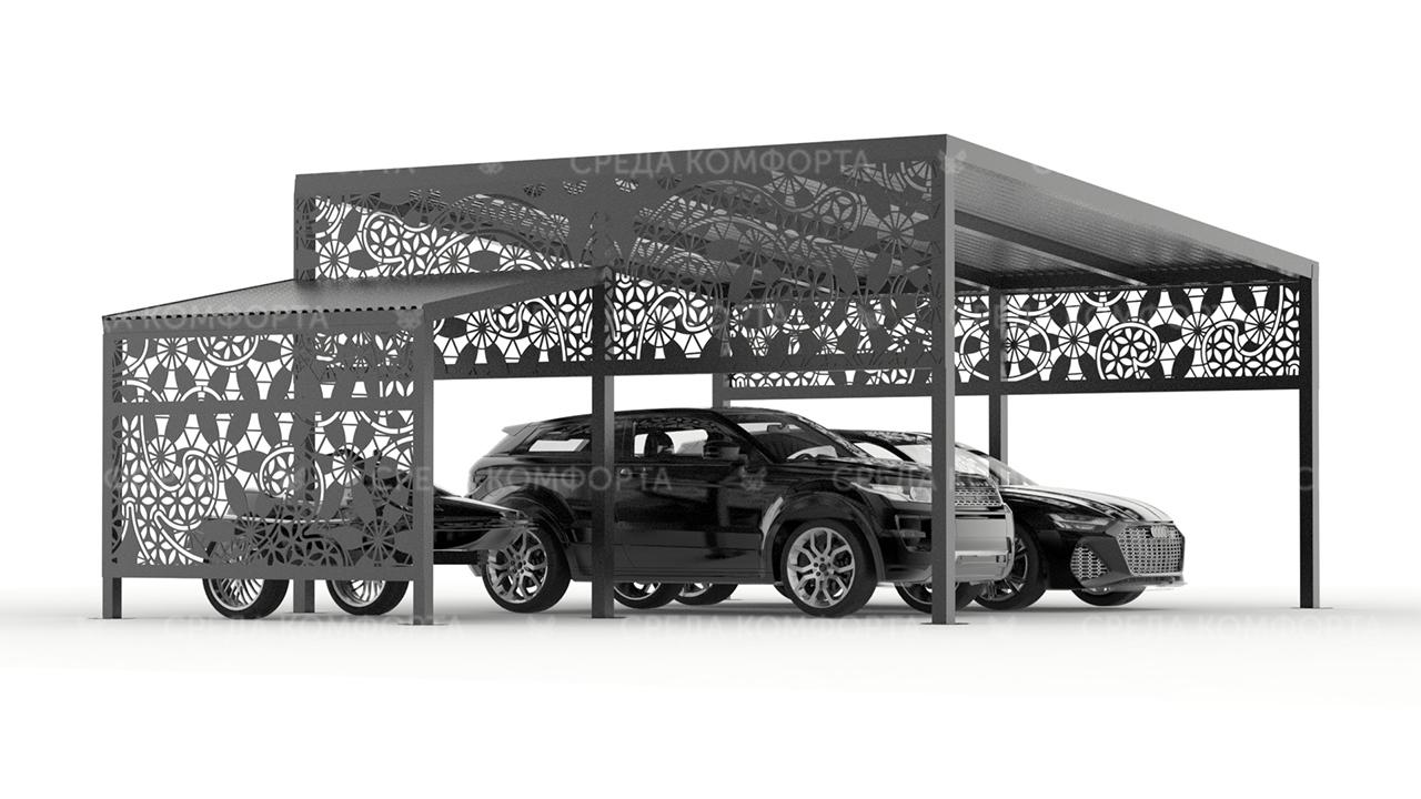 Навес для автомобиля AVNVS0070