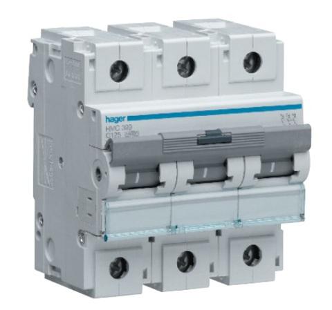 Автоматический выключатель 3P 10kA C-100A 4,5M