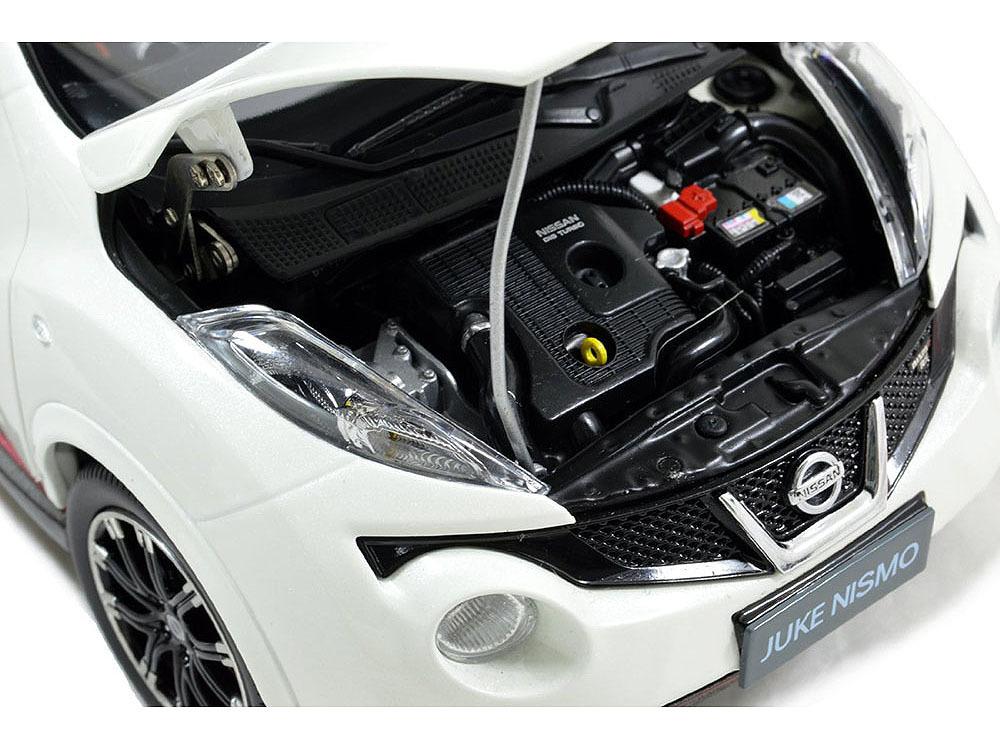 Коллекционная модель Nissan Juke Nismo RS 2014 White