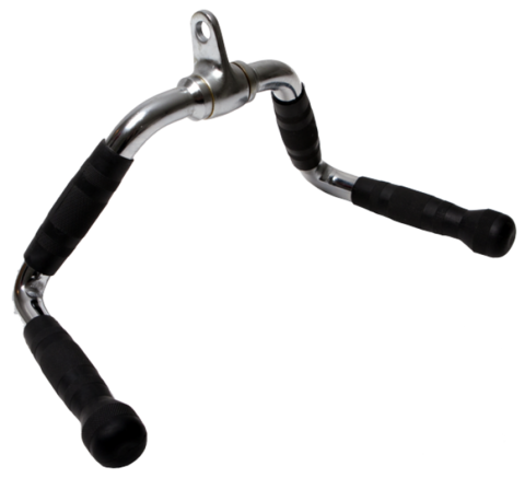 РБ-17 Ручка для тяги на трицепс и тяги к животу (средний параллельный хват)