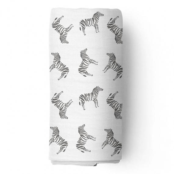 Пеленка муслиновая Adam Stork Zebra