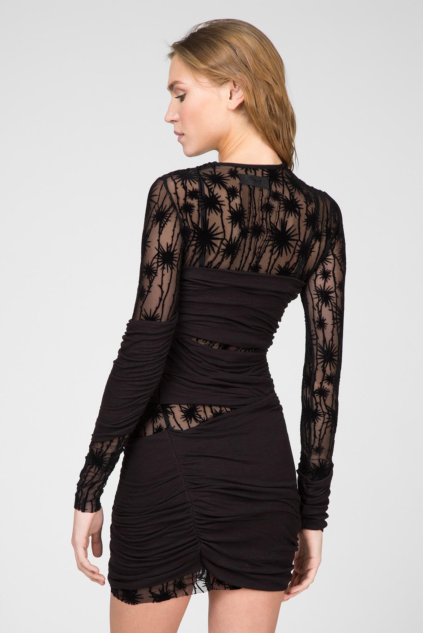 Женское черное платье D-LARY Diesel