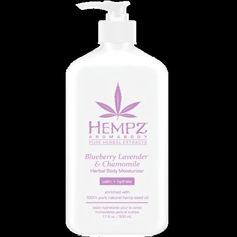 Молочко для тела увлажняющее Лаванда, Ромашка и Дикие Ягоды / Hempz Blueberry Lavender & Chamomile Herbal Body Moisturizer