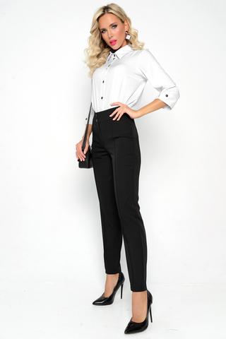 <p>Классические офисные брюки прямого силуэта. Удобная высокая посадка.&nbsp;</p>