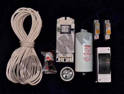 Комплект освещения ДНаТ 250 Вт (с конденсатором)