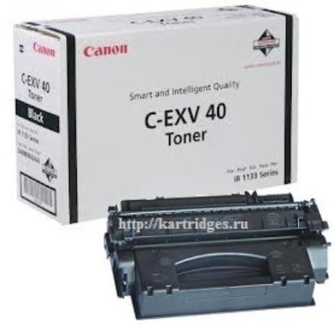 Картридж Canon C-EXV40 / 3480B006 (C-EXV-40)
