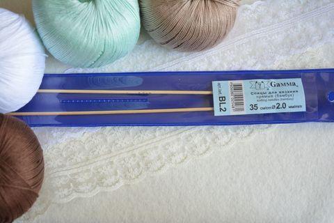 Спицы Gamma BL2 прямые бамбук