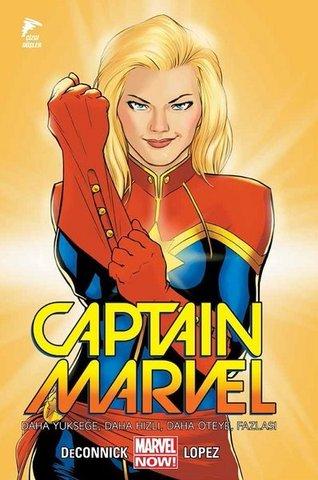 Captain Marvel Cilt 1-Daha Yükseğe, Daha Hızı, Daha Öteye, Fazlası