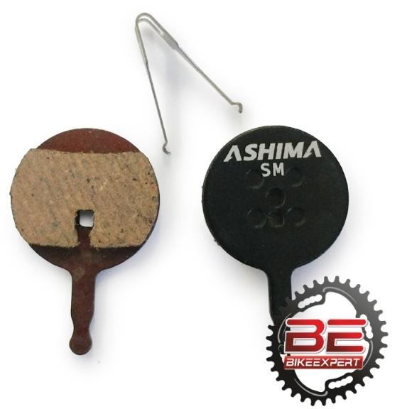 Колодки Ashima для Avid BB5 semimetal
