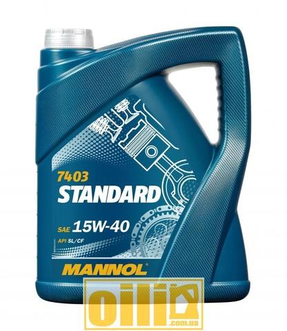 Mannol 7403 STANDARD 15W-40 5л
