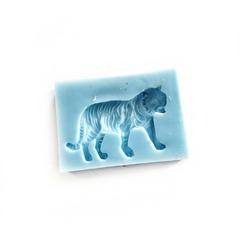 1077 Молд силиконовый. Тигр.