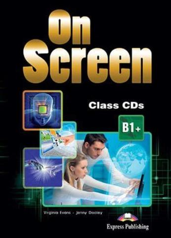 On Screen B1+. Class CD's (set of 4) REVISED. Аудио CD для работы  в классе (4 шт).