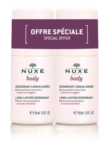 Nuxe НАБОР Сдвойка Шариковый дезодорант длительного действия NUXE BODY