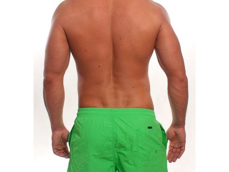Мужские шорты зеленые POLO RALPH LAUREN 3004-2014-2