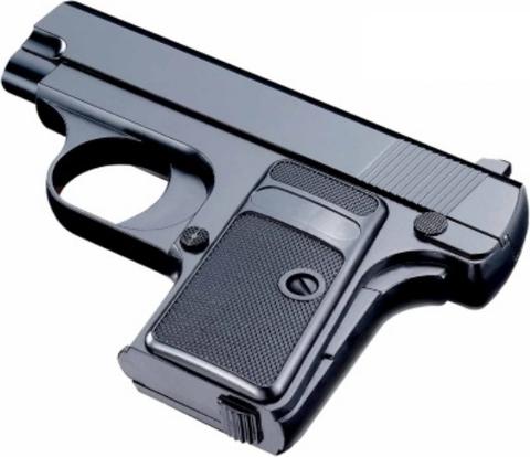 Cтрайкбольный пистолет Galaxy G.1 Colt 25 mini металлический, пружинный