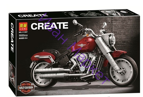 Сити креатор  11397 Harley-Davidson мотоцикл ,1023д Конструктор