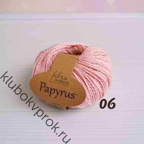 FIBRA NATURA PAPYRUS 229-06, Розовый