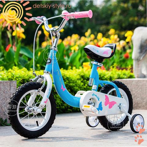 "Велосипед Royal Baby ""Butterfly Steel 14"" (Роял Беби)"