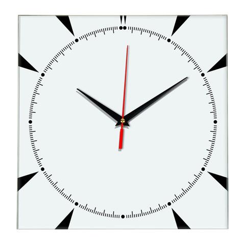 Настенные часы Ideal 867 белые