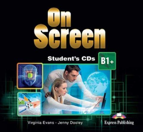 On Screen B1+. Student's CD's (set of 2). Аудио CD для работы дома (2 шт.).