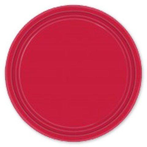 Тарелка Apple Red 17см 8шт/A