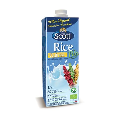 Органический рисовый напиток с киноа 1л