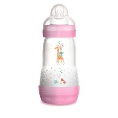 Антиколиковая бутылочка MAM 260мл, возраст 2+, розовый
