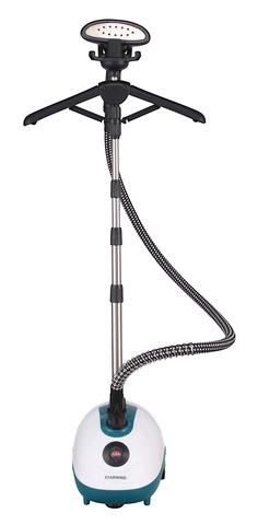 Отпариватель напольный Starwind SVG3200 1800Вт белый/зеленый