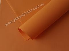 Фоамиран корейский экстра апельсиновый (07)